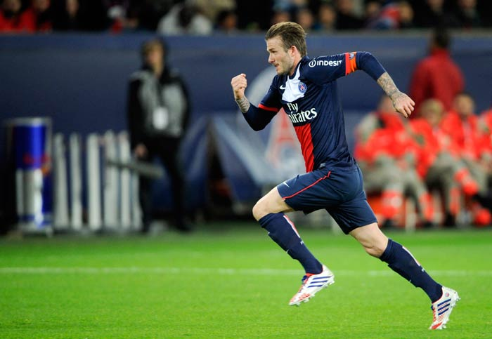 Beckham to captain PSG at Parc des Princes