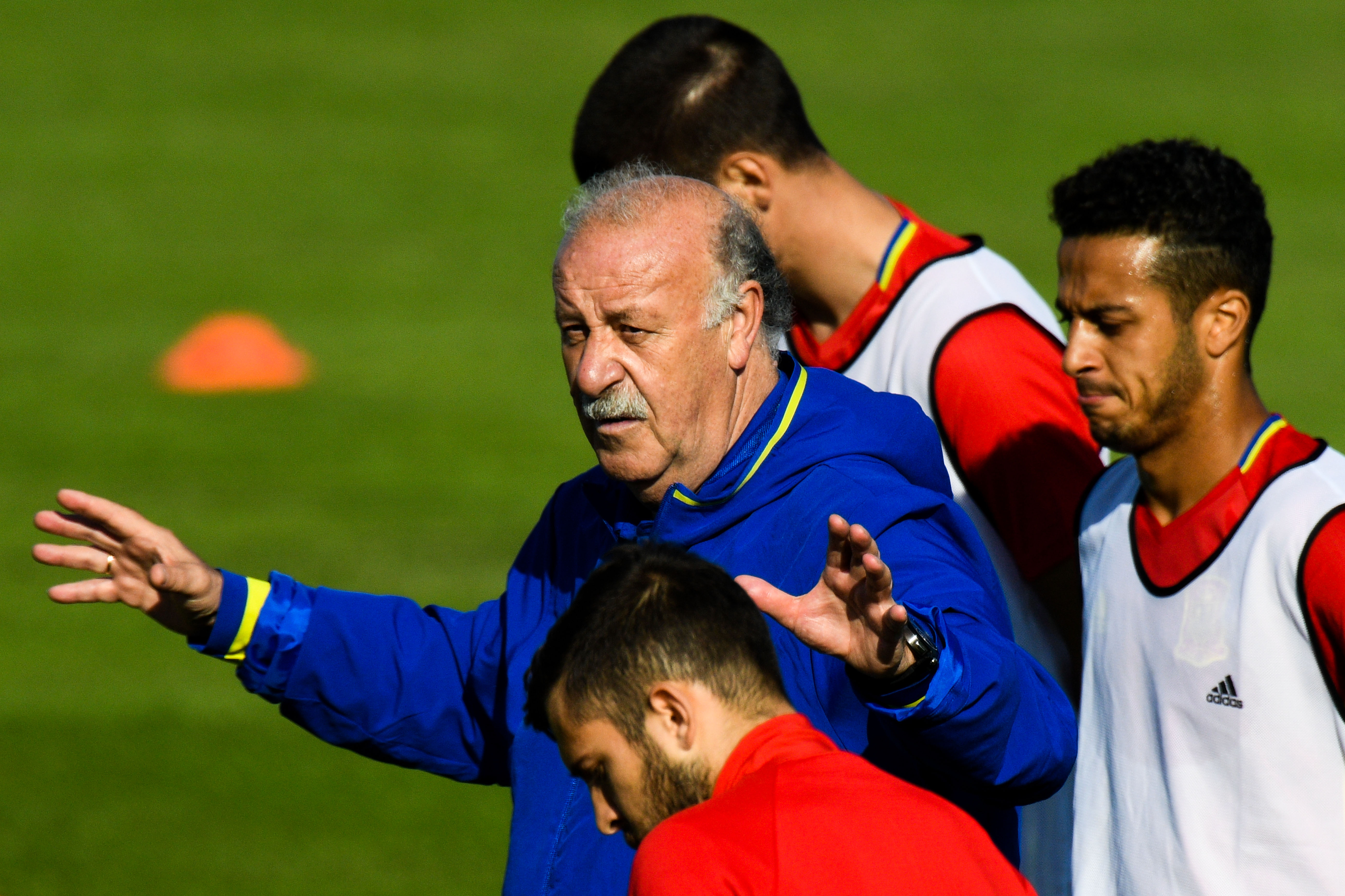 Del Bosque: Spain to play without fear