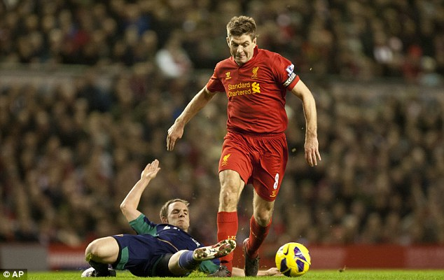Gerrard challenges Red's youngsters