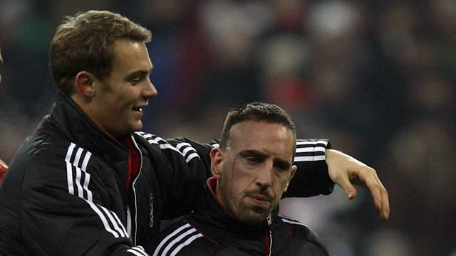 Ribery and Neuer to miss Super Cup