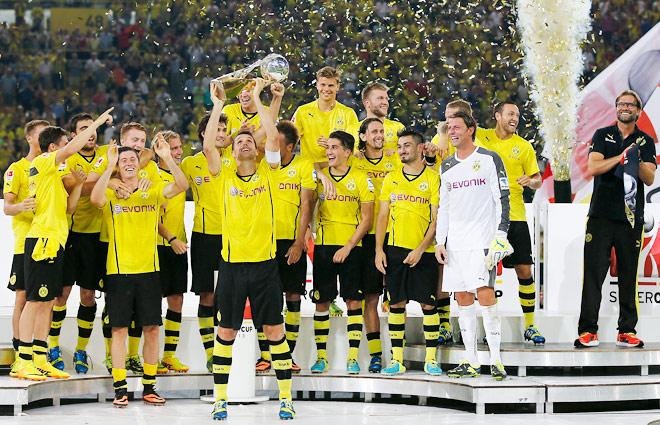 Dortmund sink Bayern in German Super Cup