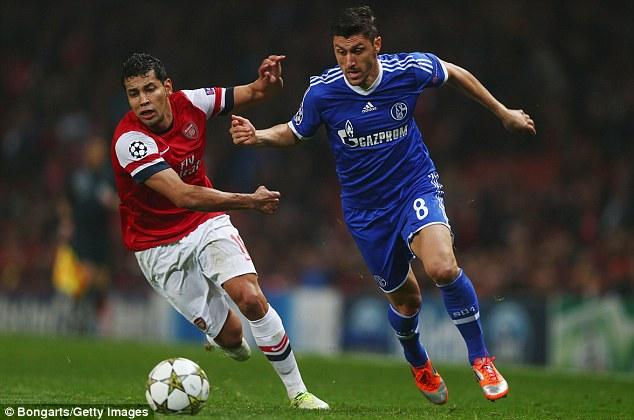 Bernard not joining Arsenal, claims agent