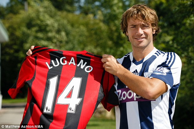 West Brom complete Lugano signing