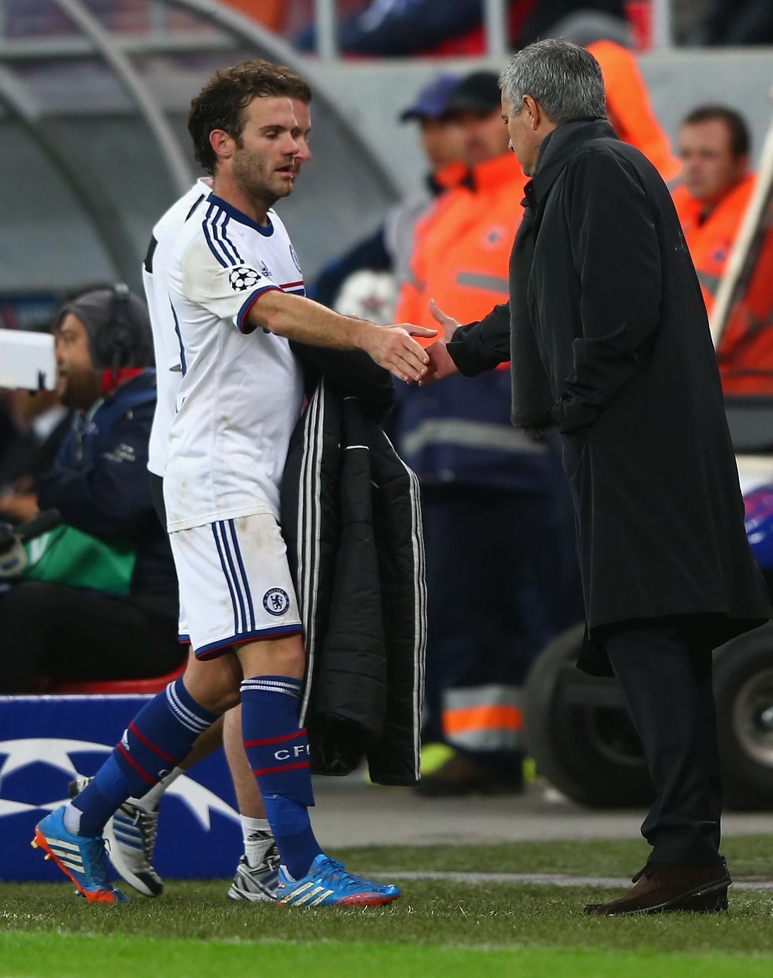 Mata happy to work under Mourinho