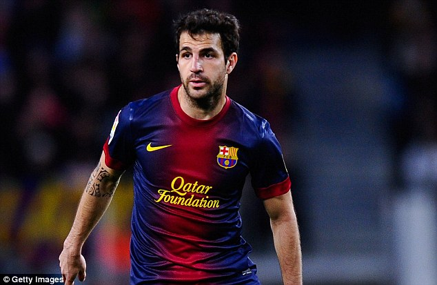 Wenger backs Fabregas to stay at Barcelona