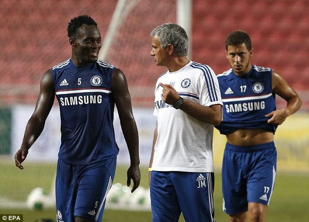Essien delighted with Mourinho return