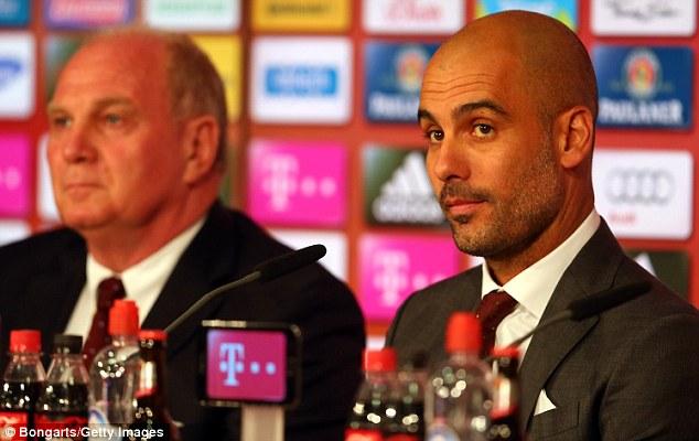 Guardiola accepts Bayern pressure