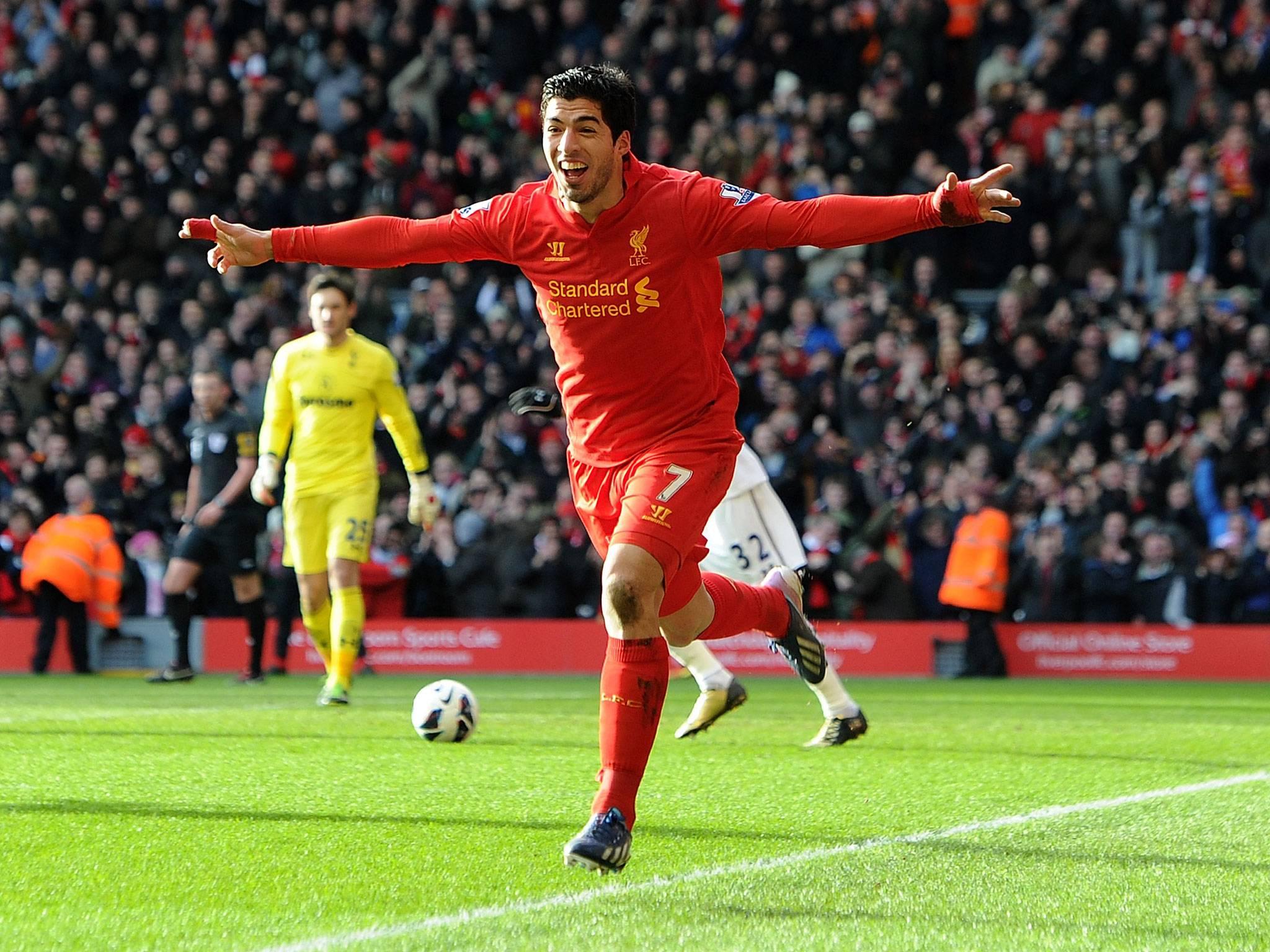 Liverpool coach proud with Luis Suarez