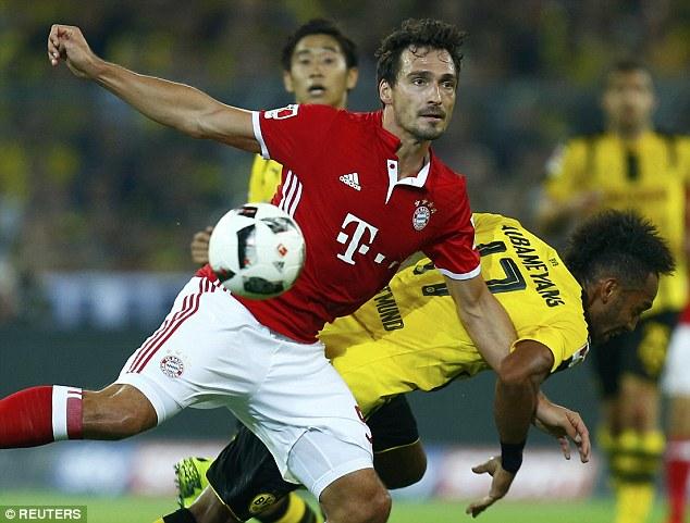 Götze knocks down Bayern (0-1)