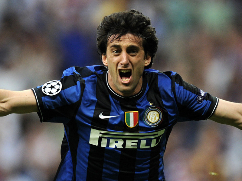 Milito keeping confident ahead of Milan derby