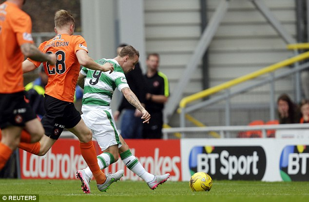 Hoops sunk by a United Dundee (1-0)