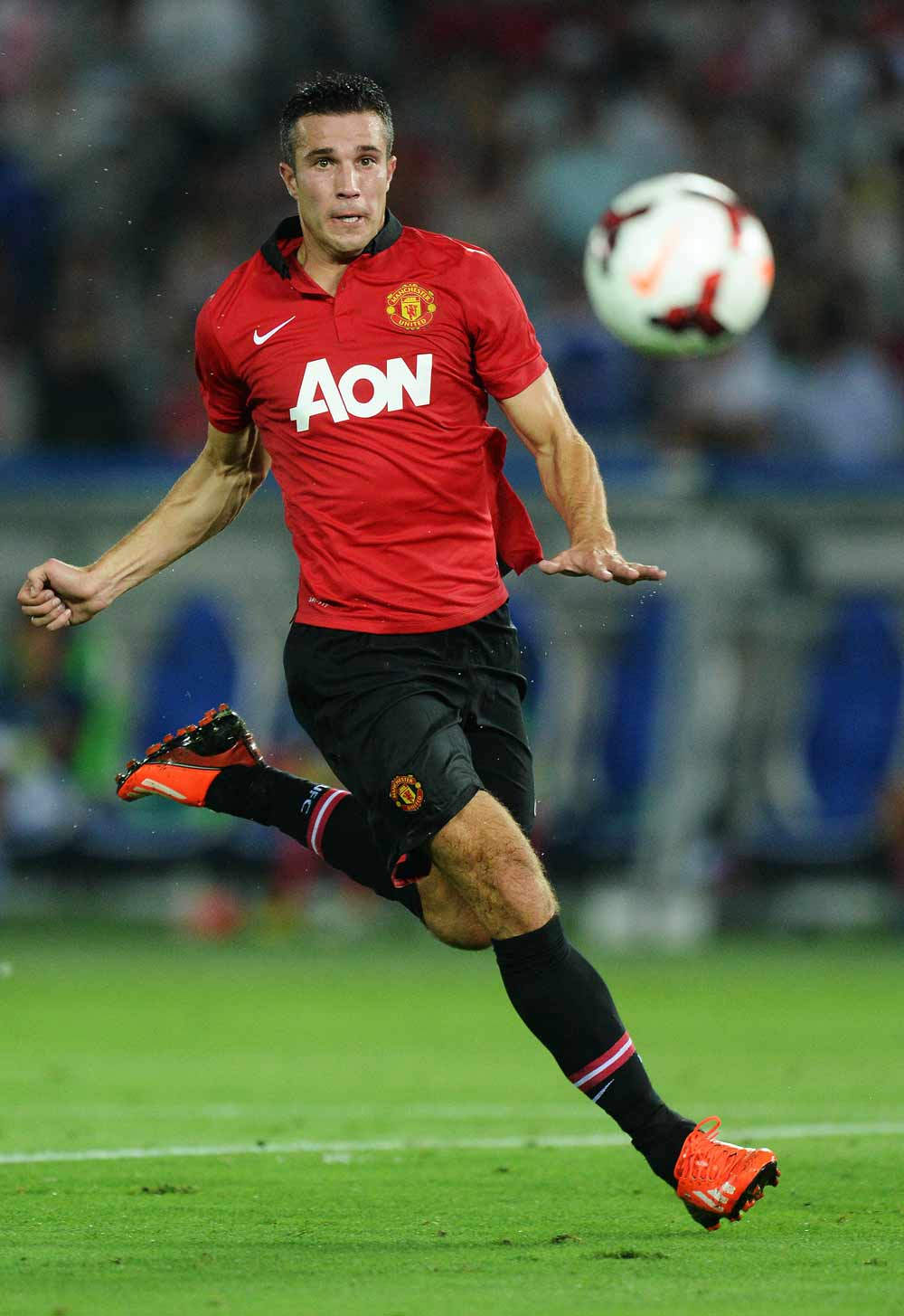 Van Persie and six other Premier League stars in Netherlands Euro 2012 squad