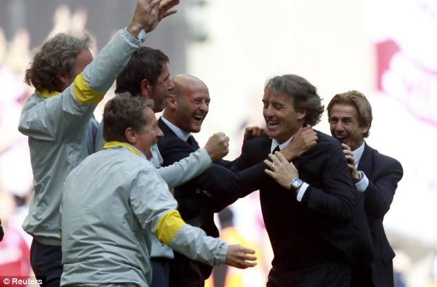 Mancini - We have two fingers on the title but it is not enough