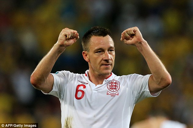 Terry hopeful of Euro 2012 call-up