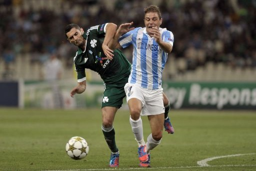 Champions League play-offs: Malaga win, Udinese and Braga draw