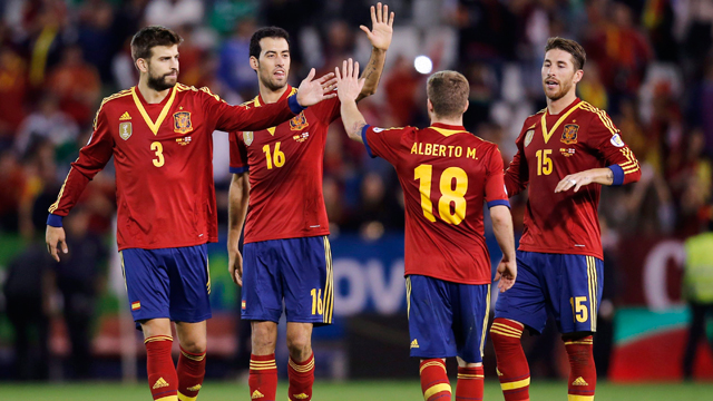 FIFA Rankings: Spain leads unchanged top 10