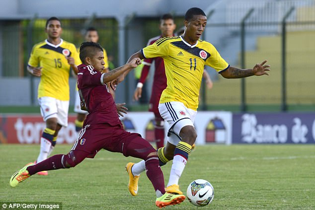 Colombia star 'dreaming' of Manchester move