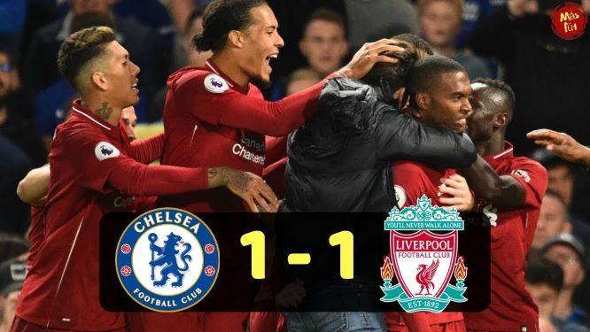 Chelsea Liverpool 1-1