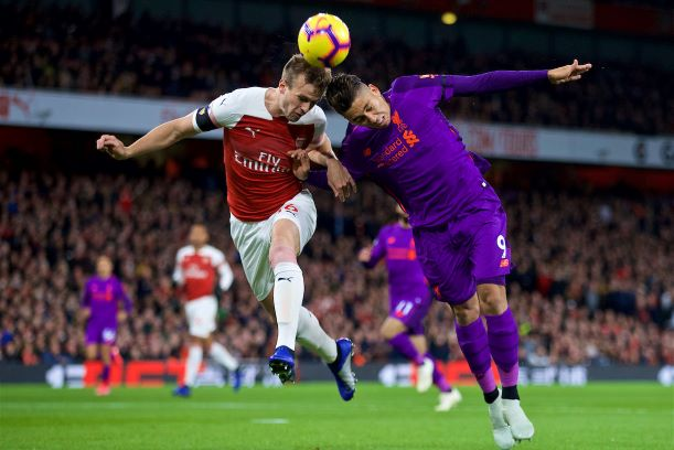 Arsenal Liverpool 1-1