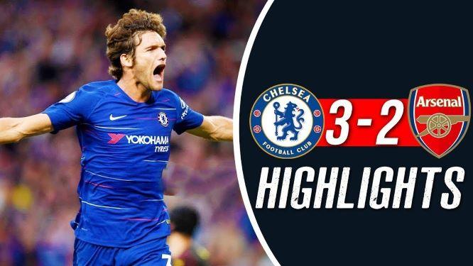 Chelsea Arsenal 3-2