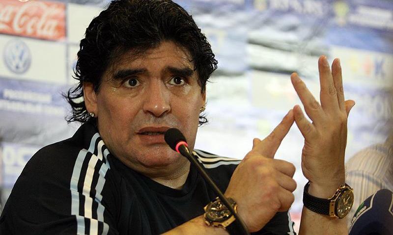 Diego Maradona to Manage Gimnasia y Esgrima La Plata