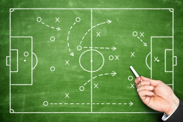 Betting on full-time football game outcomes or betting on goals
