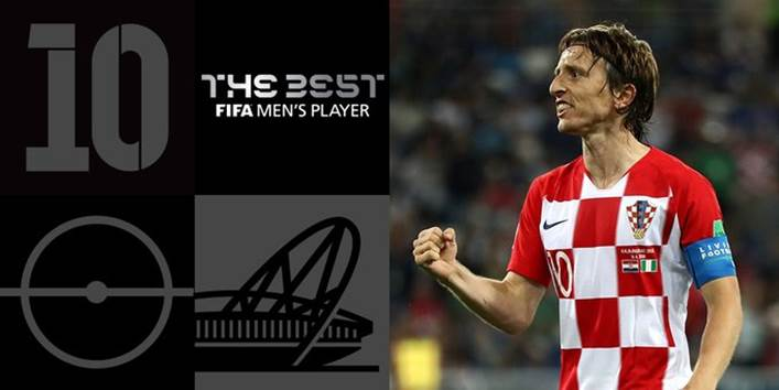 Luka Modric wins FIFA The Best