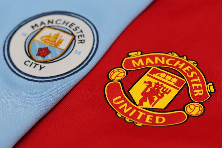 Manchester City and United combined XI