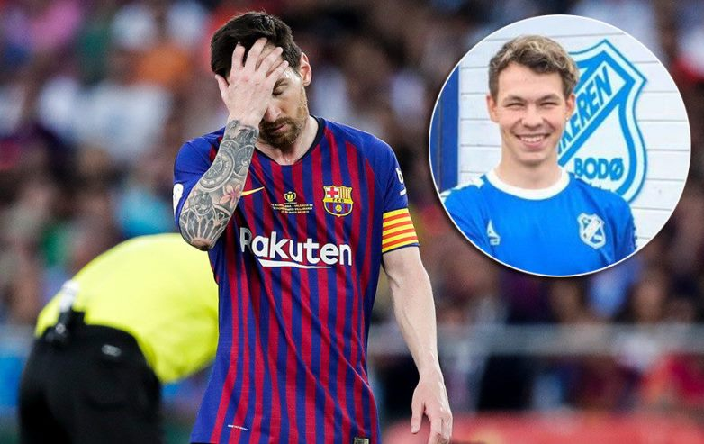 Lionel Messi got signed to a Norwegian team, for real!