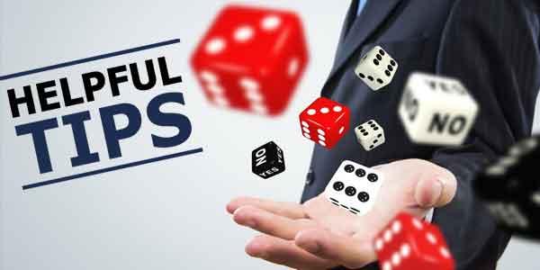 Helpful tips for online casinos