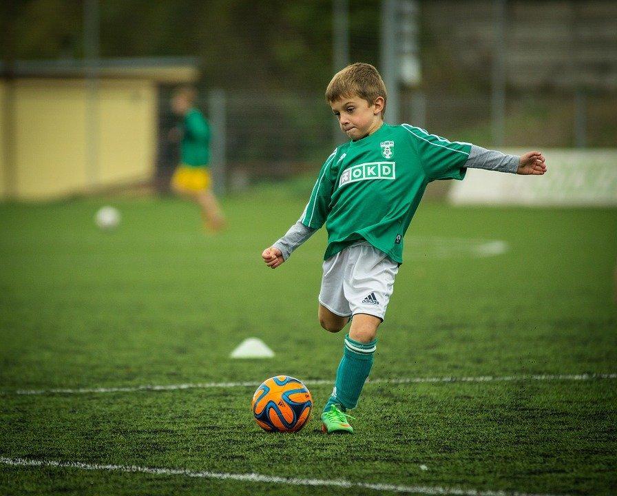 Soccer Training in the Backyard