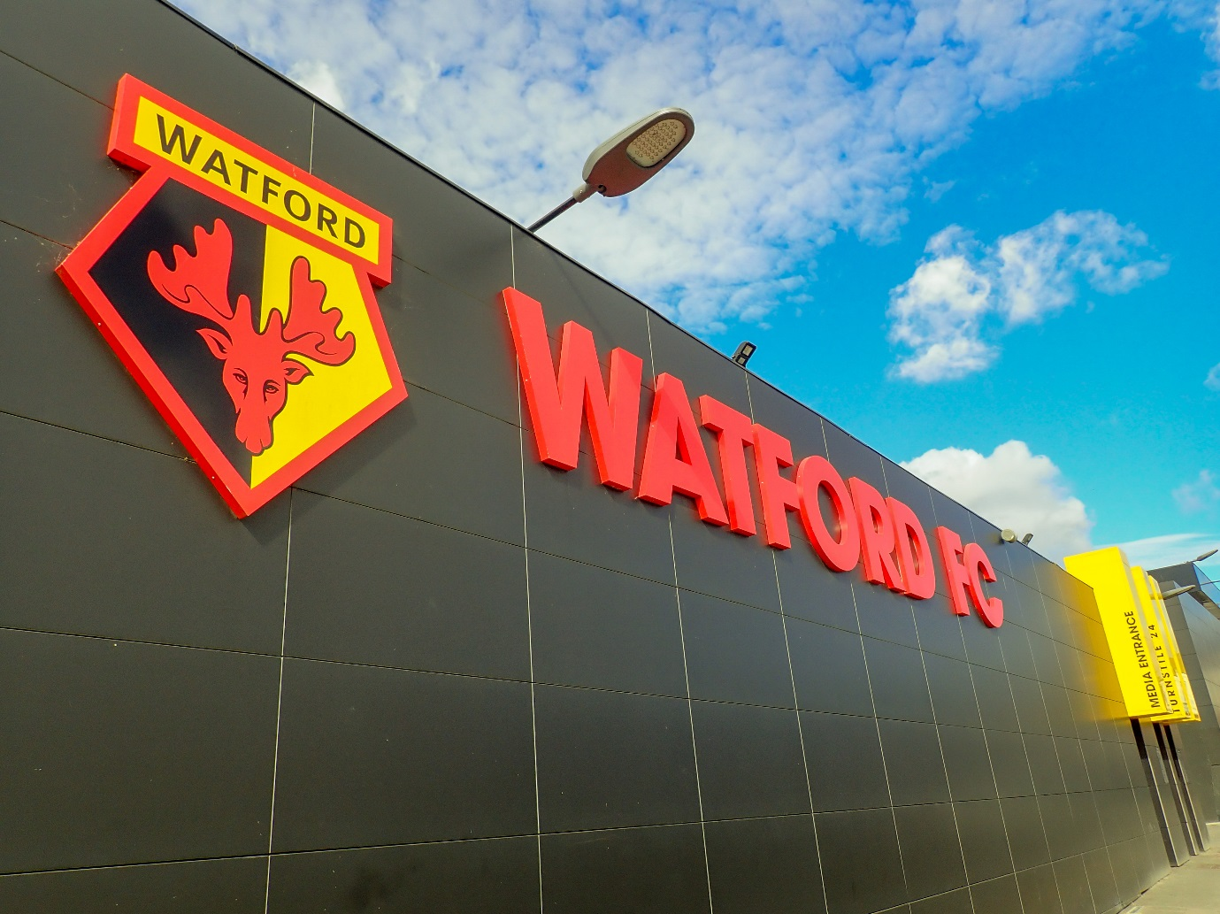 Stand by Watford: the Premier League side yet to win a game